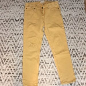 Yellow/Gold Roxy Jeans
